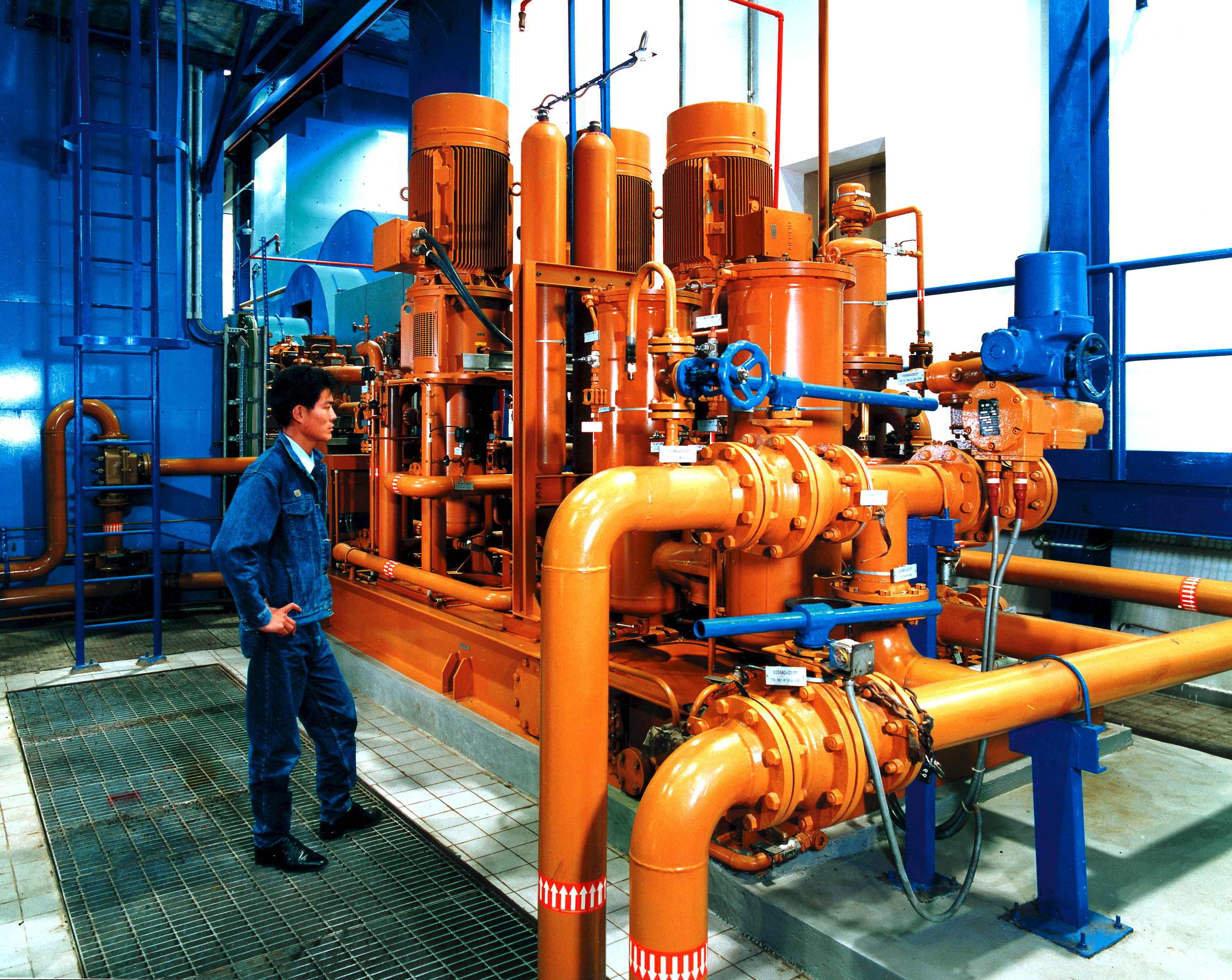 Tubos de gas - F3F